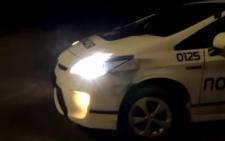 У Чернівцях патрульні потрапили у ДТП (відео)