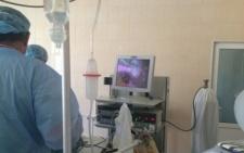 Першу операцію з допомогою лапароскопа провели у Новоселицькій районній лікарні