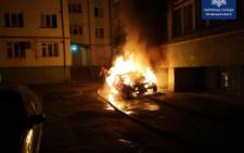 У поліції розповіли деталі нічної пожежі на вулиці Кармелюка