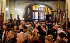 У Чернівцях у Соборі Успіння Пресвятої Богородиці відбулась Хресна дорога (фото)