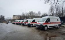 У Чернівцях центр швидкої допомоги отримав ще вісім нових автівок