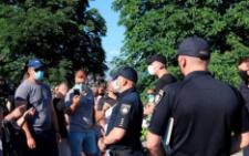На Буковині судитимуть чоловіка, який побив двох поліцейських під час протесту в Атаках