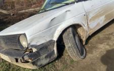 На Буковині під час обгону зіткнулись три автівки (фото)