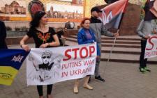 На Центральній площі у Чернівцях відбувся мітинг