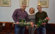 Ще два учасника бойових дій АТО отримали матеріальну допомогу на придбання житла (фото)