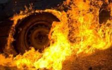 На Буковині в селі загорівся рейсовий автобус
