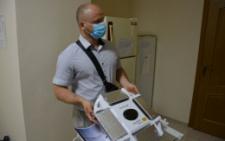 У Чернівцях нове антибактеріальне обладнання протестували в міській лікарні №1