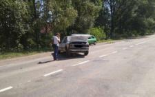 На Буковині не розминулись два легковики (фото)