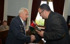 В Чернівецькій міськраді привітали ветеранів міста зі святом (фото)