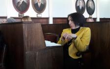 Олена Пушкова, яку затримали на хабарі, сплатила заставу, яка дорівнює майже дворічній зарплаті чиновниці