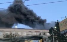 У Чернівцях в  районі Дріжджзаводу горіла меблева фабрика