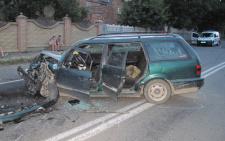 У Коровії «Фольксваген Пассат» на іноземній реєстрації зіткнувся з «Мерседесом», є постраждалі (фото)
