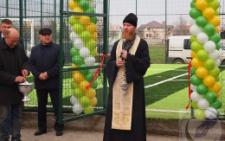 На Буковині у Маршинцях відкрили футбольний майданчик із штучним покриттям (фото)