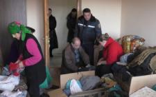 На Буковині рятувальники привезли для переселенців гуманітарну допомогу (фото)