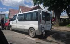 На Буковині зіштовхнулися одразу п'ять авто (фото)