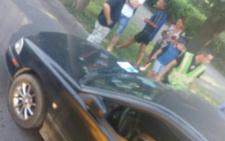 У Чернівцях на Гравітоні збили велосипедиста (фото)
