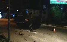 Стали відомі подробиці ДТП у Чернівцях, в яку потрапив автомобіль спецпідрозділу «Тигр»