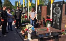 У Чернівцях вшанували пам'ять загиблого на Сході капітана СБУ (фото)